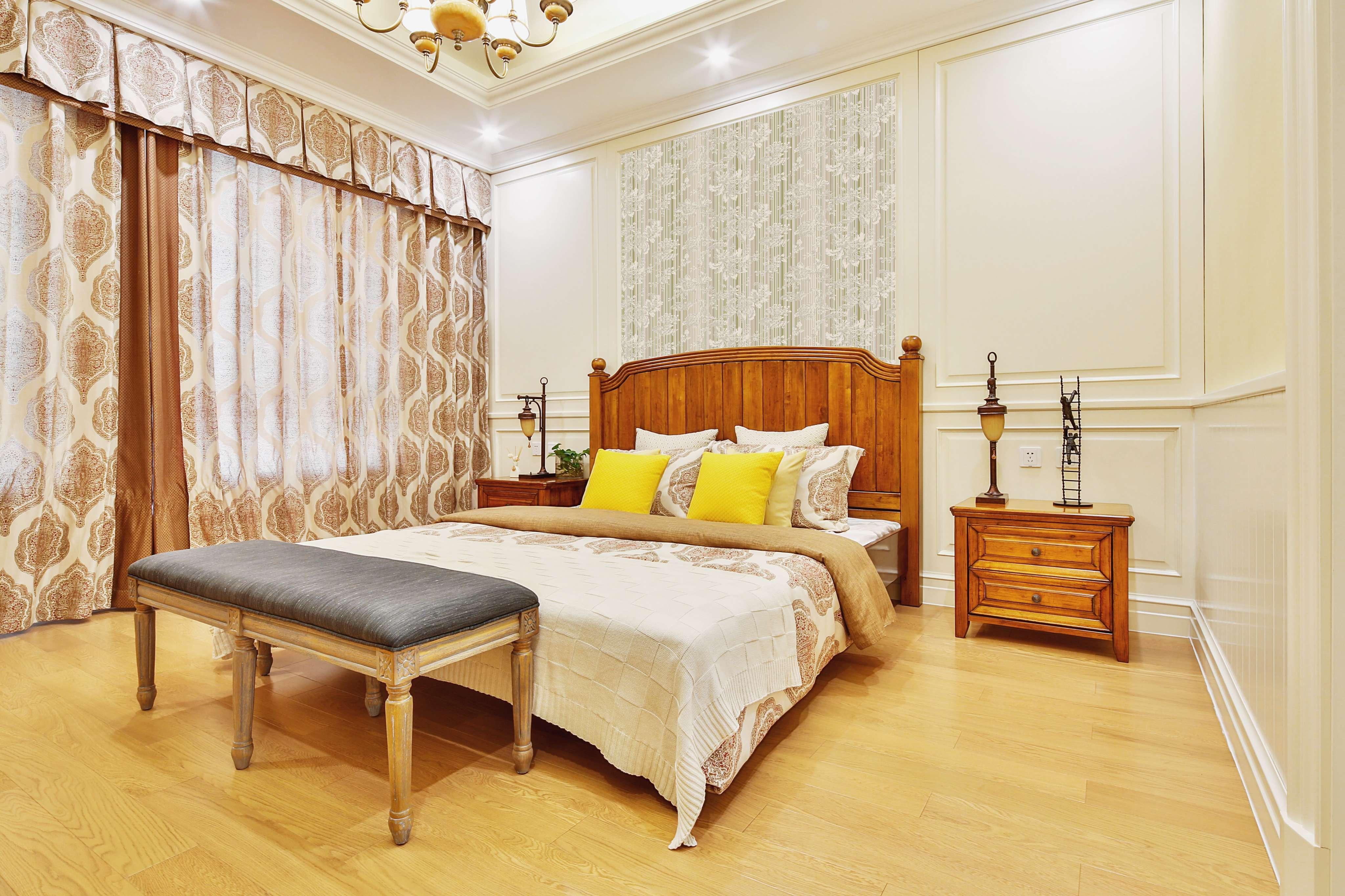 FABENI卧室床头背景墙护墙板 可定制